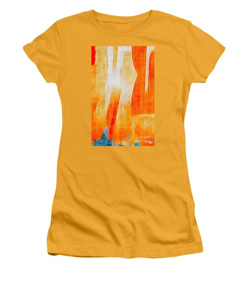 Canyon Women's T-Shirt (Junior Cut) by William Wyckoff