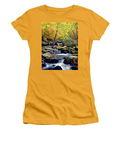Cascade Brook Women's T-Shirt (Athletic Fit)