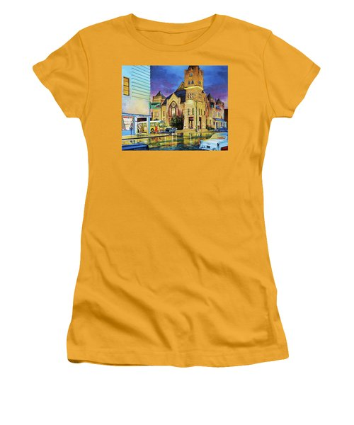 Castle Of Imagination Women's T-Shirt (Athletic Fit)