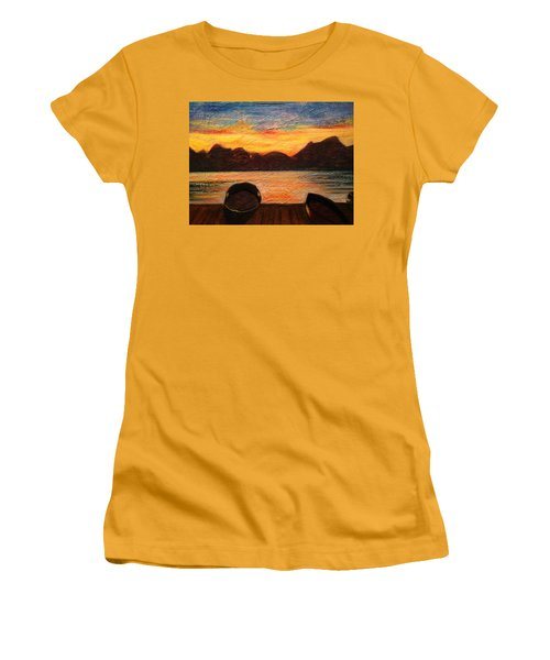 Celtic Sunset Women's T-Shirt (Athletic Fit)