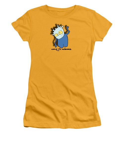 Chane Women's T-Shirt (Junior Cut) by Uncle J's Monsters