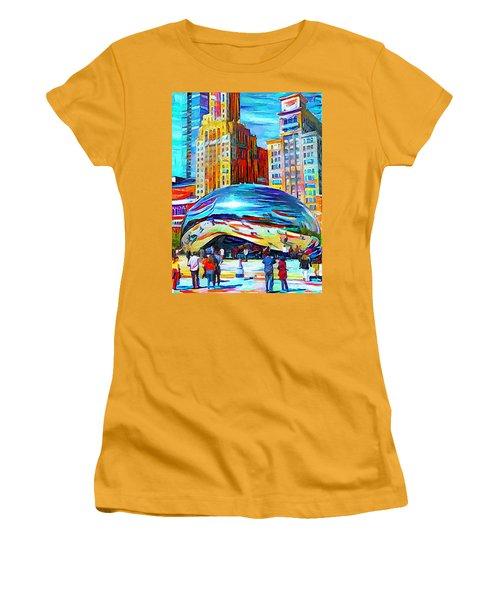 Chicago Millennium  Women's T-Shirt (Athletic Fit)