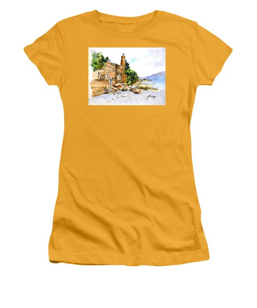 Church Of Primacy, Galilee Women's T-Shirt (Athletic Fit)