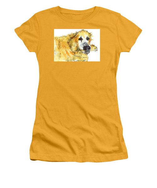 Cinders Chief Dog Women's T-Shirt (Athletic Fit)