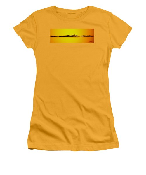 City Of Gold Women's T-Shirt (Athletic Fit)