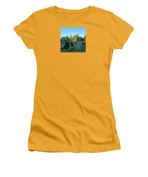 Clear Light In The Graveyard Women's T-Shirt (Athletic Fit)