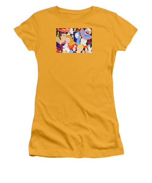 Send In The Clowns Women's T-Shirt (Athletic Fit)
