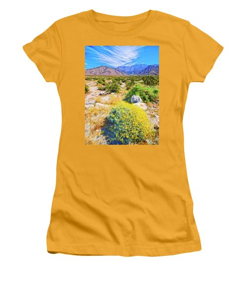 Coachella Spring Women's T-Shirt (Junior Cut) by Dominic Piperata