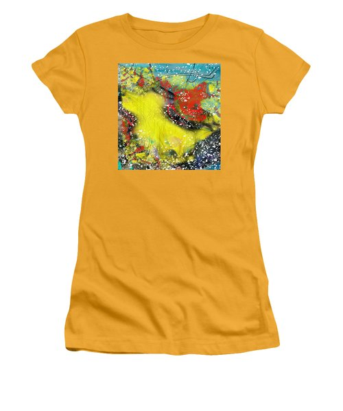 Let's Celebrate Women's T-Shirt (Junior Cut) by Yul Olaivar