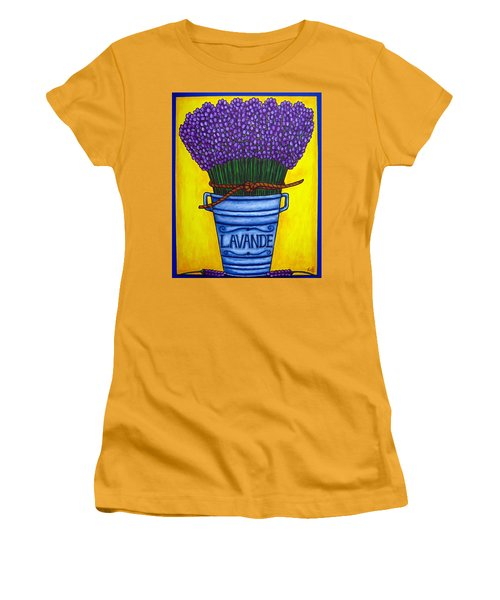 Colours Of Provence Women's T-Shirt (Athletic Fit)