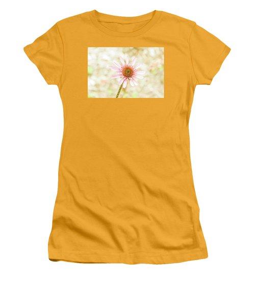 Cone Flower Women's T-Shirt (Junior Cut) by Jay Stockhaus