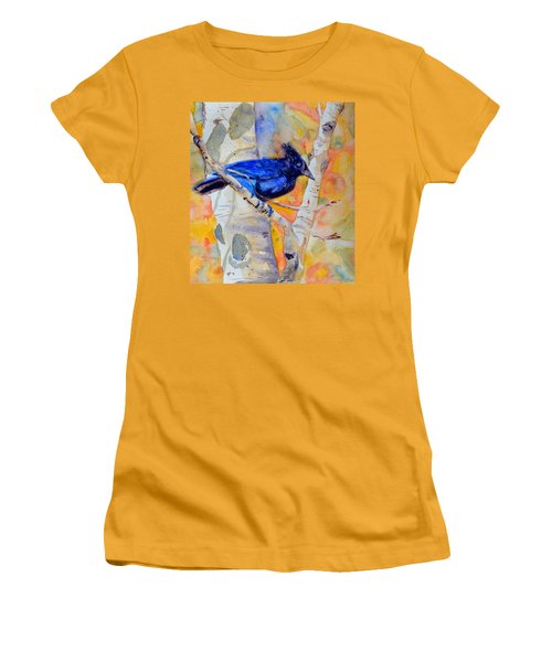 Constant Motion Women's T-Shirt (Junior Cut) by Beverley Harper Tinsley