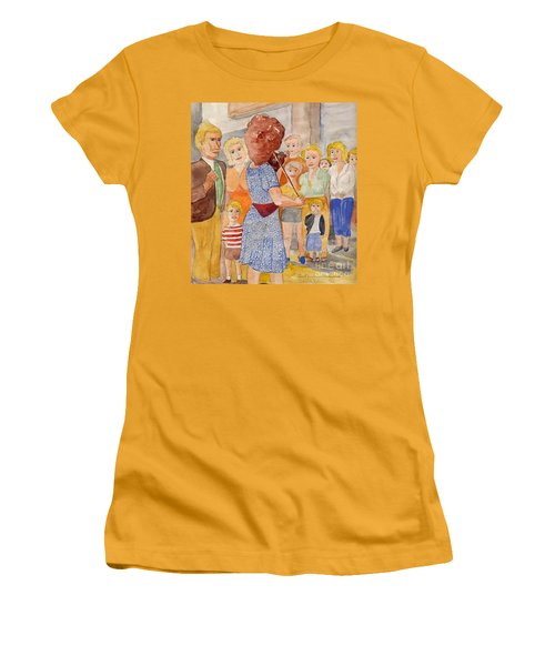 Corner Musician Amsterdam Women's T-Shirt (Junior Cut) by Fred Jinkins
