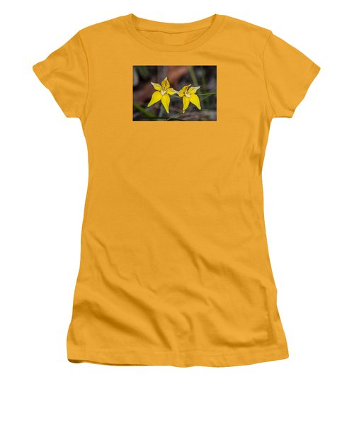 Cowslip Orchid Australia Women's T-Shirt (Athletic Fit)