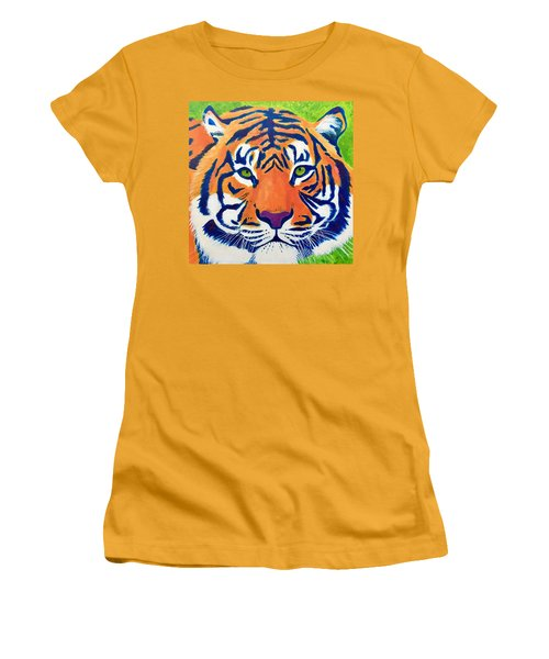 Critically Endangered Sumatran Tiger Women's T-Shirt (Athletic Fit)