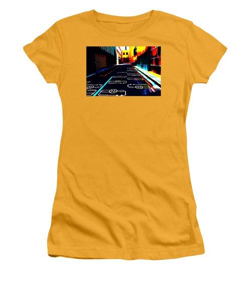Curcuit City Women's T-Shirt (Athletic Fit)