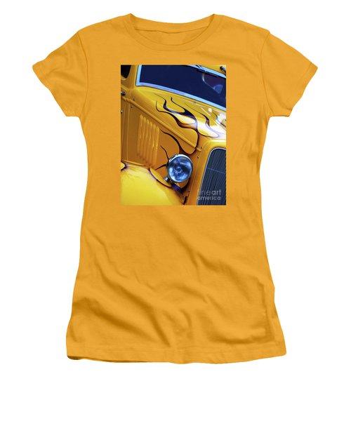 Custom 1934  Ford Artwork Women's T-Shirt (Junior Cut) by Stephen Melia