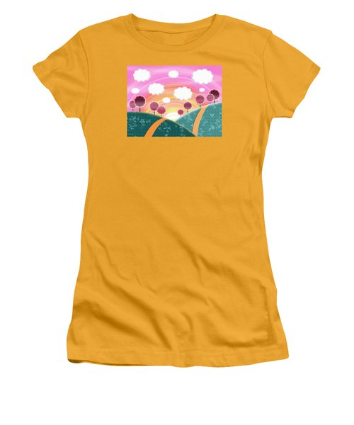 Cuteness Overload Women's T-Shirt (Junior Cut) by Shawna Rowe