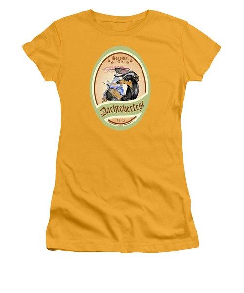 Dachtoberfest Seasonal Ale Women's T-Shirt (Athletic Fit)