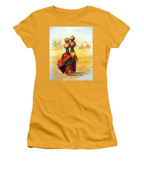 Daily Desert Dance Women's T-Shirt (Junior Cut) by Alika Kumar
