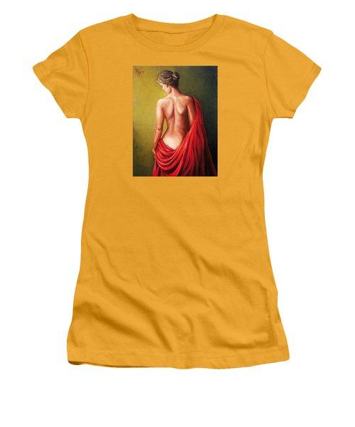 Dama De Rojo Women's T-Shirt (Athletic Fit)