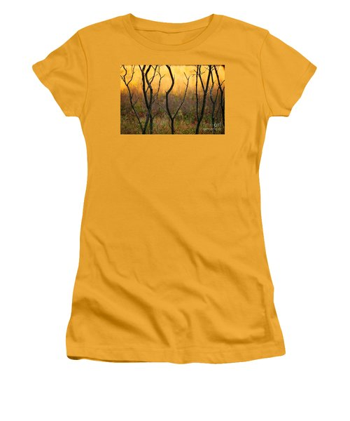 Dancing Trees Women's T-Shirt (Athletic Fit)