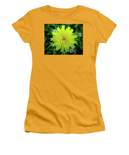 Dandelion Symmetry Women's T-Shirt (Athletic Fit)