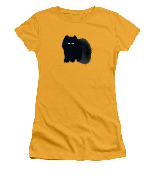 Women's T-Shirt (Junior Cut) featuring the digital art Dandy by Asok Mukhopadhyay