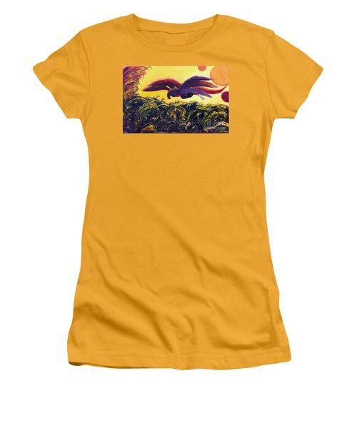 Dangerous Waters Women's T-Shirt (Junior Cut) by Ania M Milo