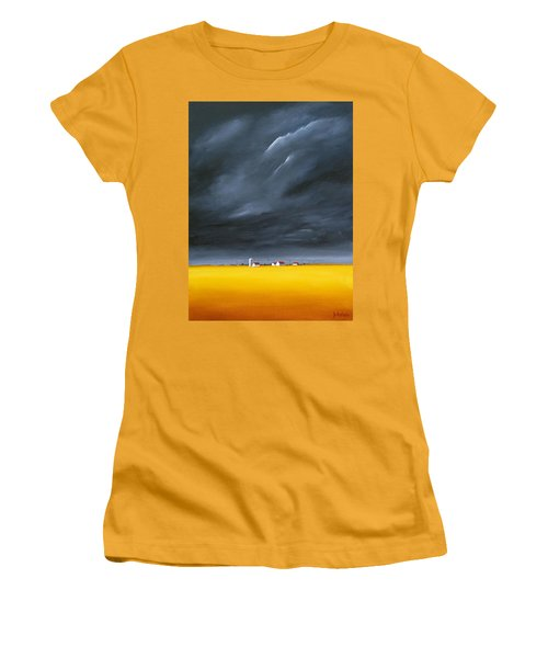 Dark And Stormy Women's T-Shirt (Junior Cut) by Jo Appleby
