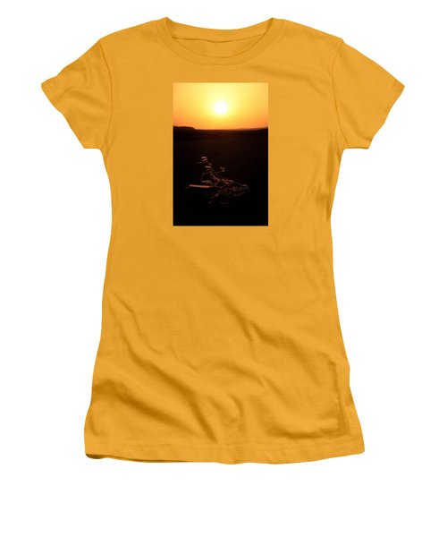 Women's T-Shirt (Junior Cut) featuring the photograph dark in the U K by Jez C Self