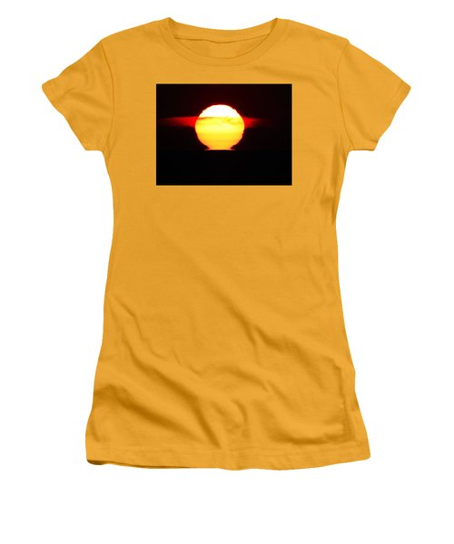 Dark Sunrise Women's T-Shirt (Junior Cut) by Kathy Long
