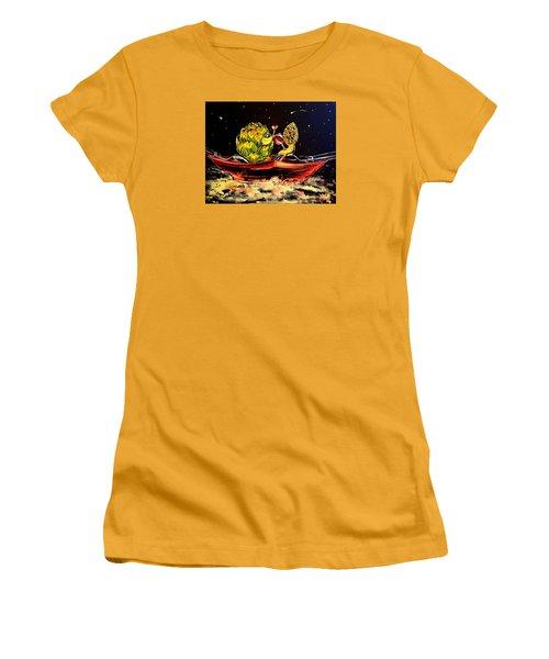 Date On A Plate Women's T-Shirt (Junior Cut) by Alexandria Weaselwise Busen