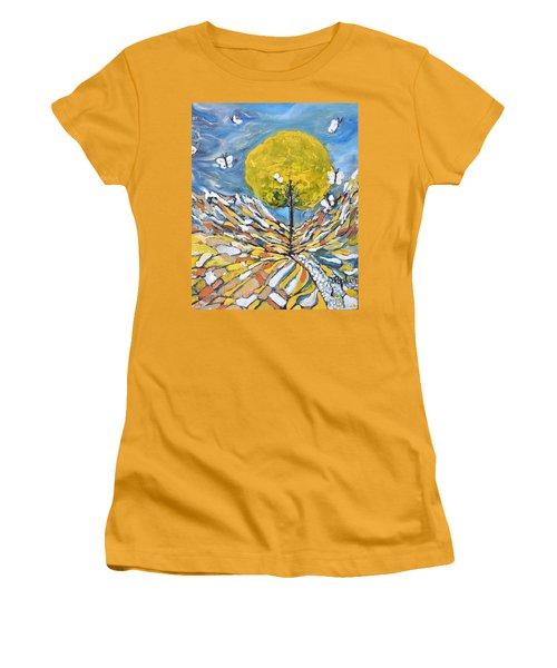 Daybreak Women's T-Shirt (Junior Cut) by Evelina Popilian