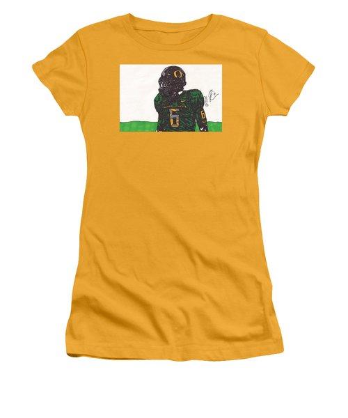 De'anthony Thomas 2 Women's T-Shirt (Junior Cut) by Jeremiah Colley