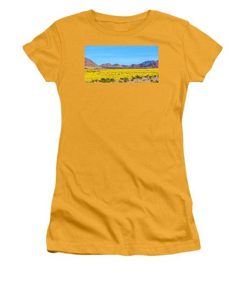 Death Valley Super Bloom 2016 Women's T-Shirt (Junior Cut) by Peter Tellone