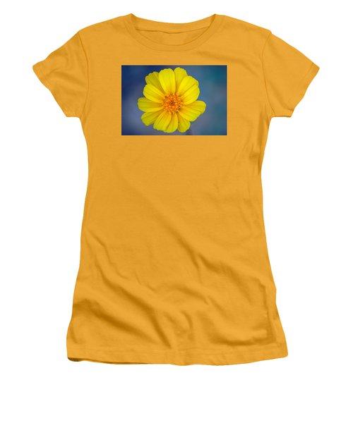 Women's T-Shirt (Junior Cut) featuring the photograph Death Valley Superbloom 403 by Daniel Woodrum