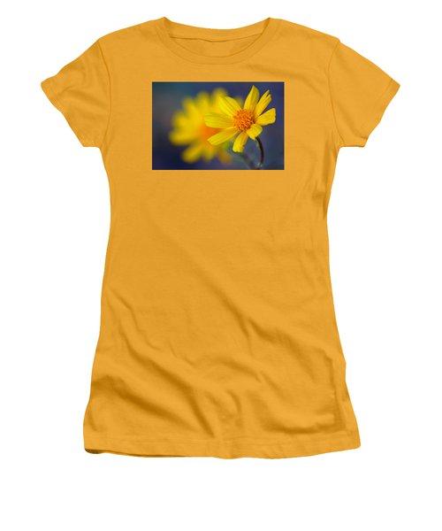 Women's T-Shirt (Junior Cut) featuring the photograph Death Valley Superbloom 503 by Daniel Woodrum