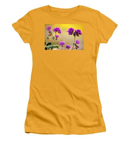 Women's T-Shirt (Junior Cut) featuring the photograph Death Valley Superbloom 506 by Daniel Woodrum