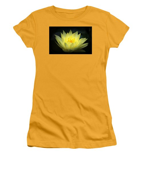 Delicate Water Lily Women's T-Shirt (Athletic Fit)