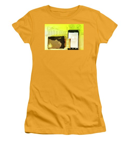 Digitalization Women's T-Shirt (Athletic Fit)