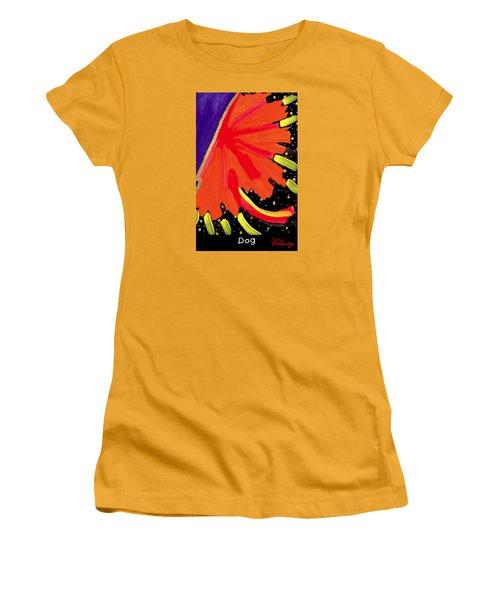 Dog Women's T-Shirt (Junior Cut) by Clarity Artists