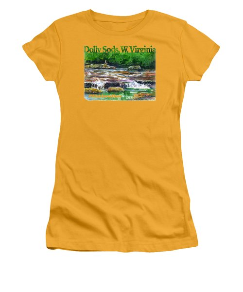 Dolly Sods Waterfalls Wv Shirt Women's T-Shirt (Athletic Fit)