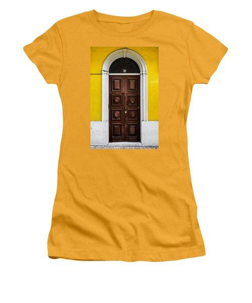Door No 20 Women's T-Shirt (Junior Cut) by Marco Oliveira