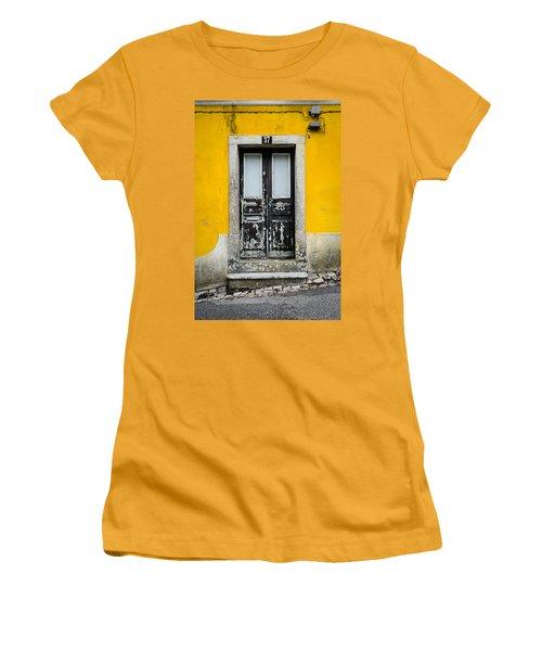 Door No 37 Women's T-Shirt (Athletic Fit)