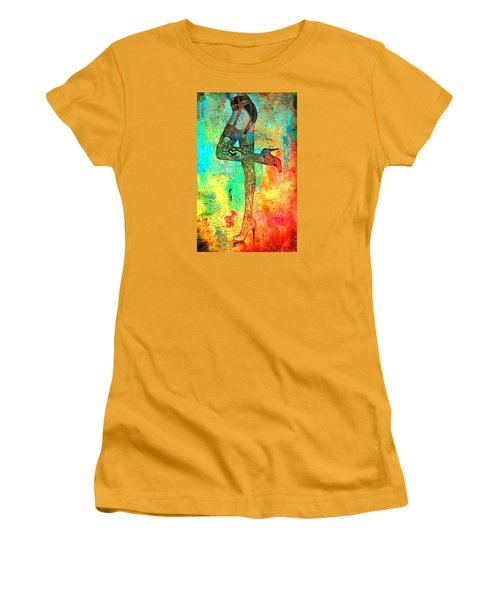 Down Hoser Women's T-Shirt (Athletic Fit)