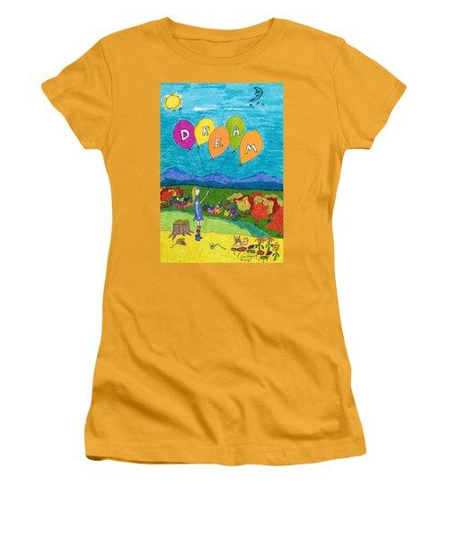 Dream Women's T-Shirt (Athletic Fit)