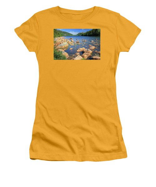 Dreaming Of Acadia Women's T-Shirt (Athletic Fit)