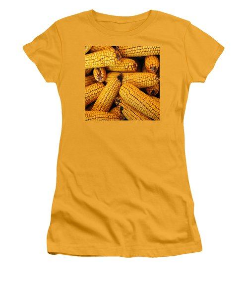 Dried Corn Cobs Women's T-Shirt (Athletic Fit)