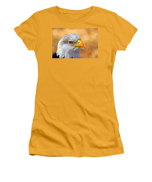 Women's T-Shirt (Junior Cut) featuring the photograph Eagle 7 by Marty Koch